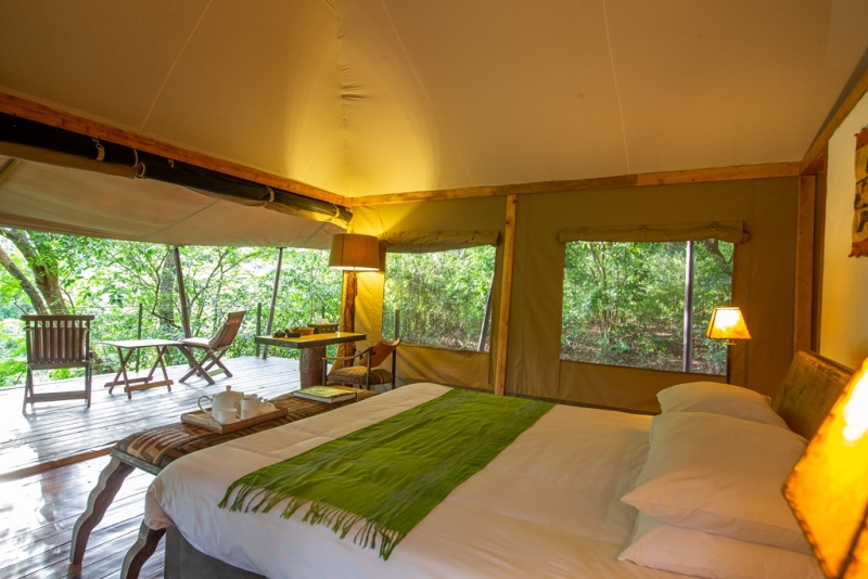 Rhino River Camp - Kichaka Tours and Travel Kenya